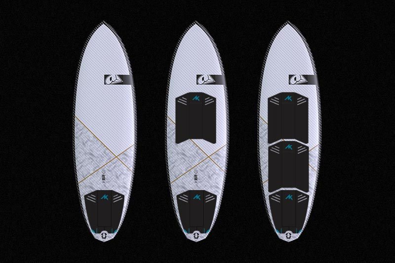 AK Surf Traction Pads 56