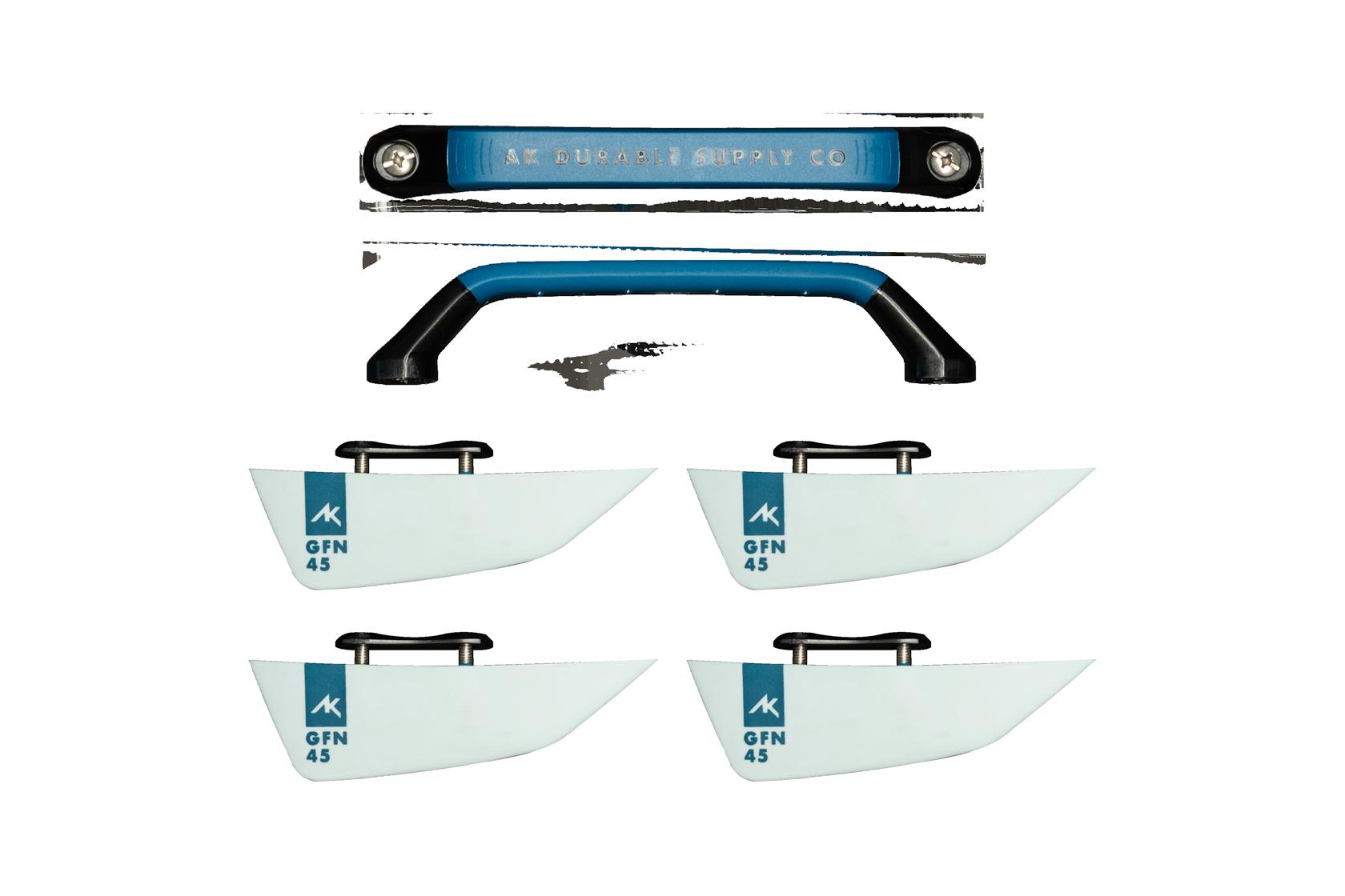 AK Fins and Handle Set