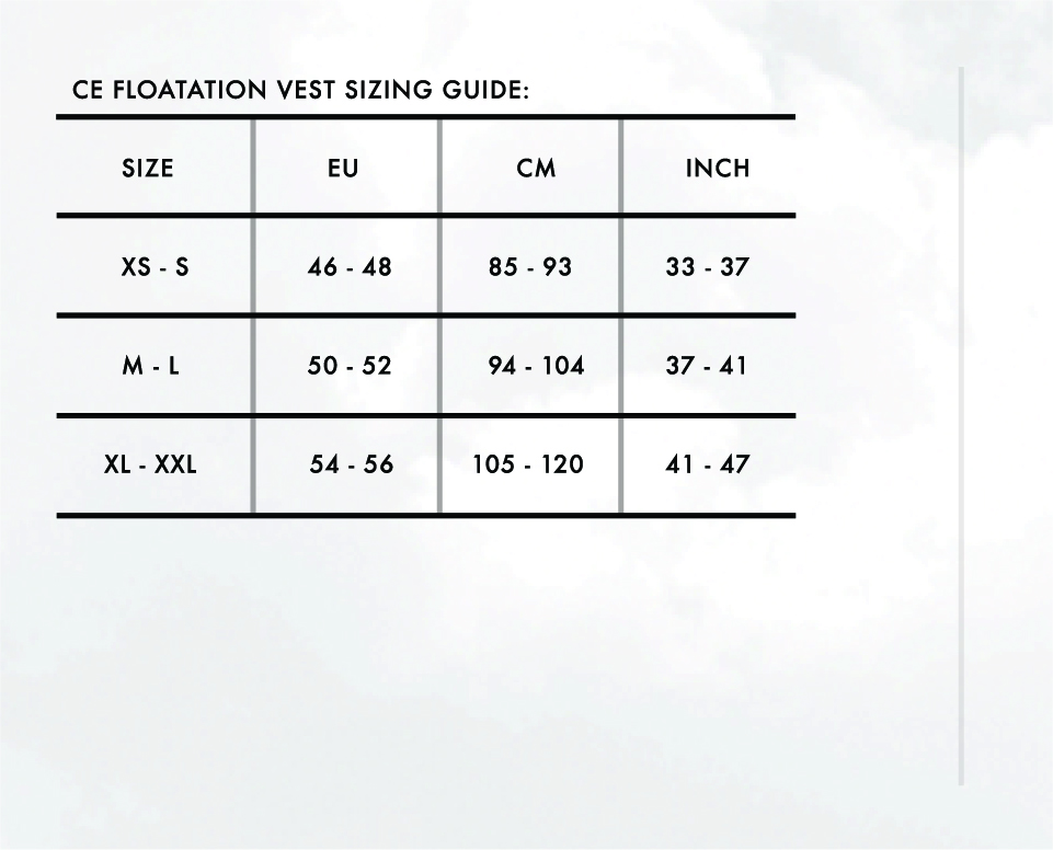 Size Charts 5