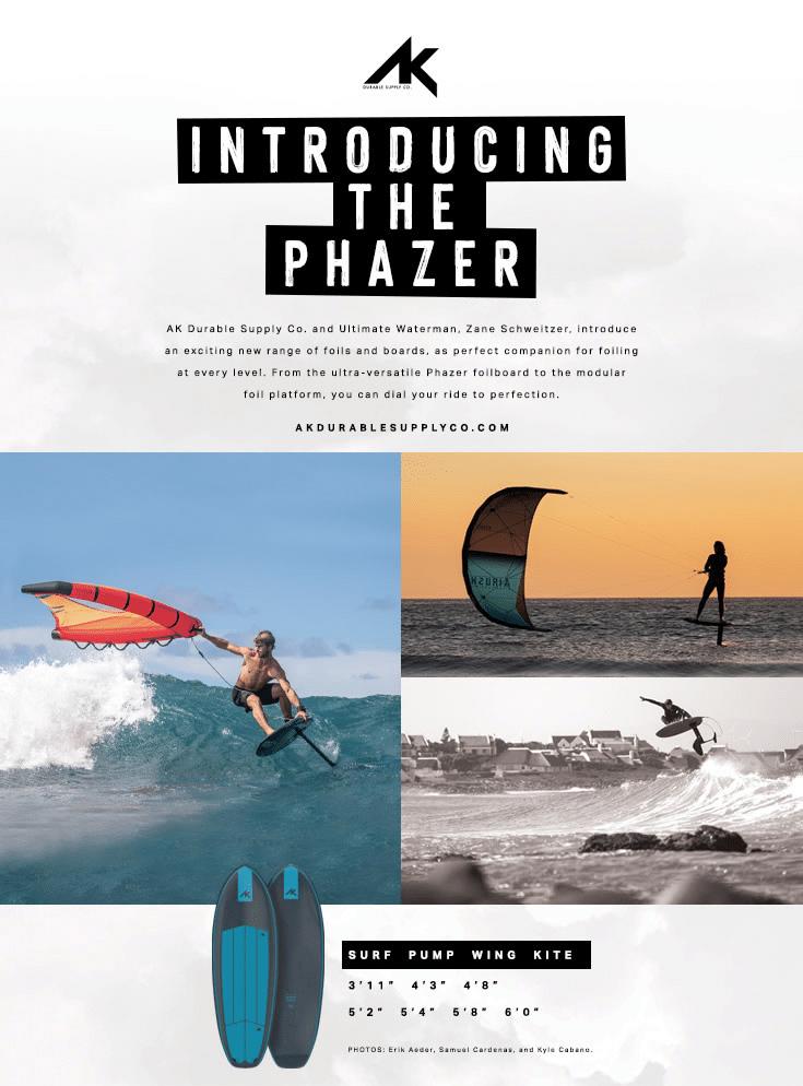 The Phazer Foilboard - Tonic Review 7